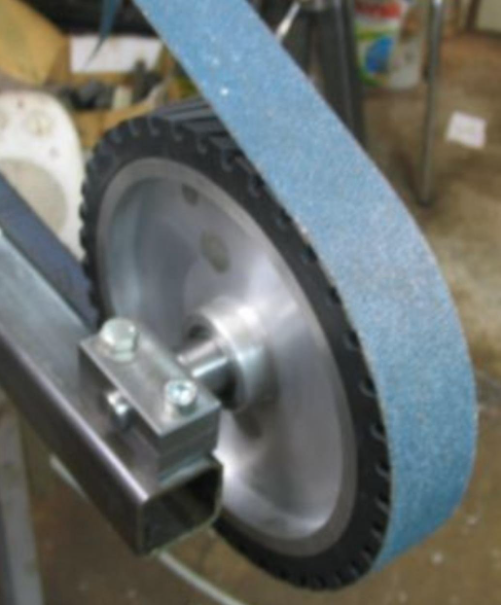 Projet de fabrication de backstand. Pb adaptation de roulement sur roue contact... Detail10