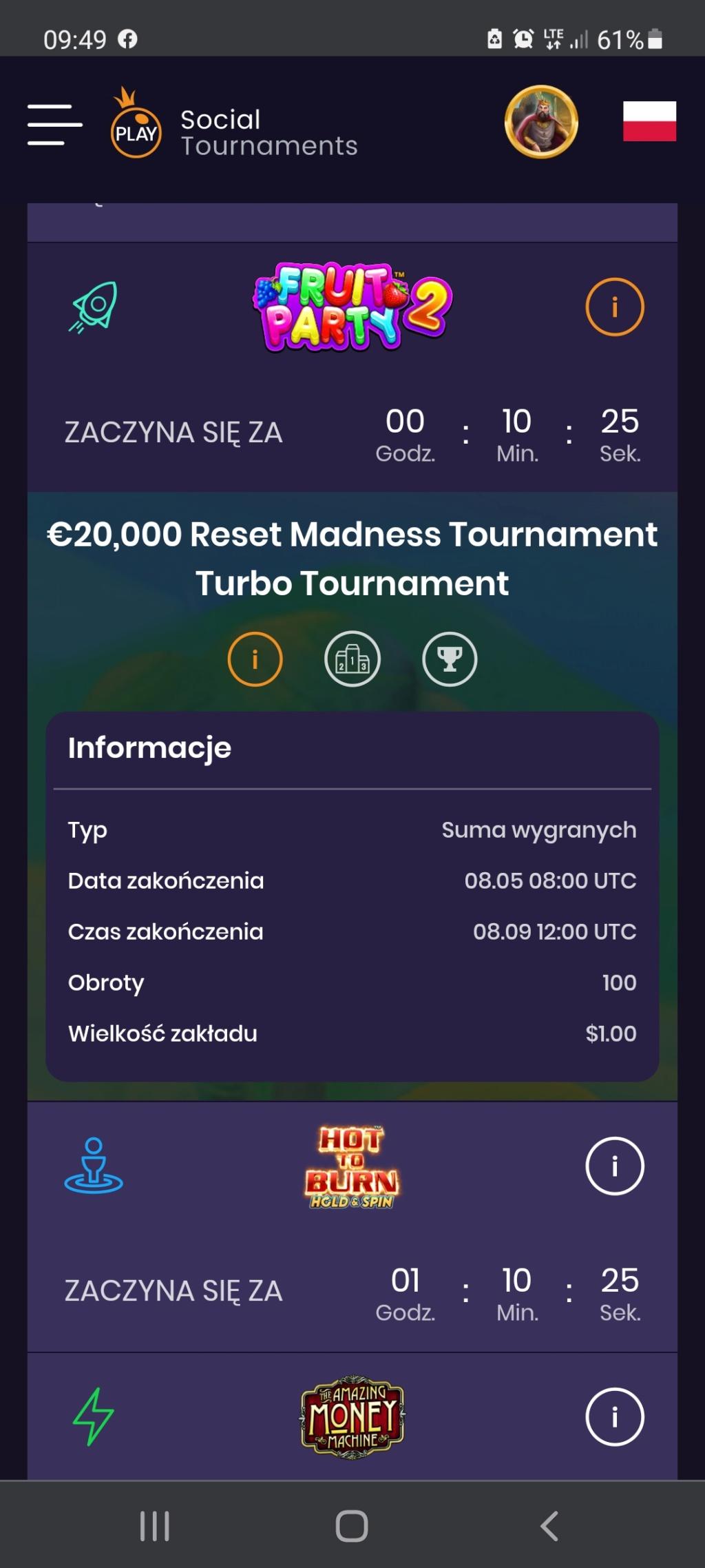 Social Tournaments kody i darmowe turnieje każdego dnia  - Page 33 Screen11
