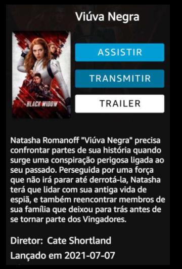 Viúva Negra // filme  Screen22