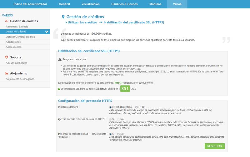 Los certificados SSL + posibilidad de ejecutar el foro con HTTPS estarán disponibles para foroactivo en tres fases Espano11