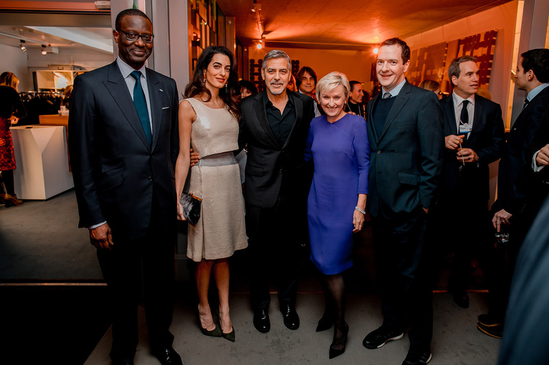 george and amal clooney in davos world economic forum Jan 2017 Cloone10