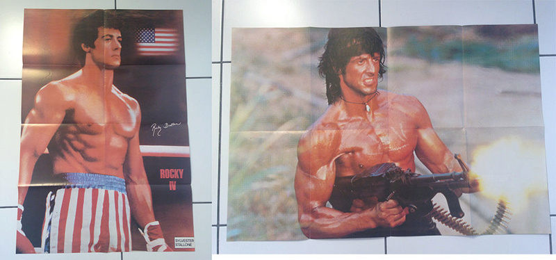collection slystallone Lot_de13