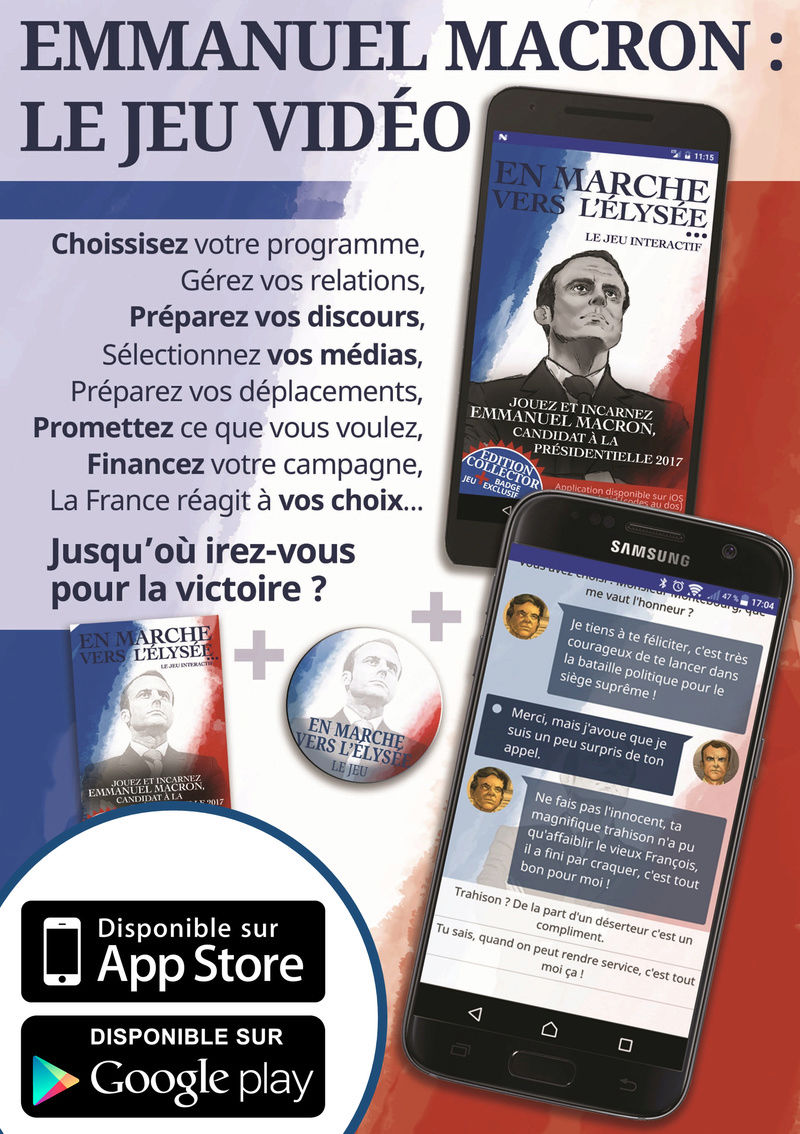 Emmanuel Macron, le jeu vidéo ! Cid_ii10
