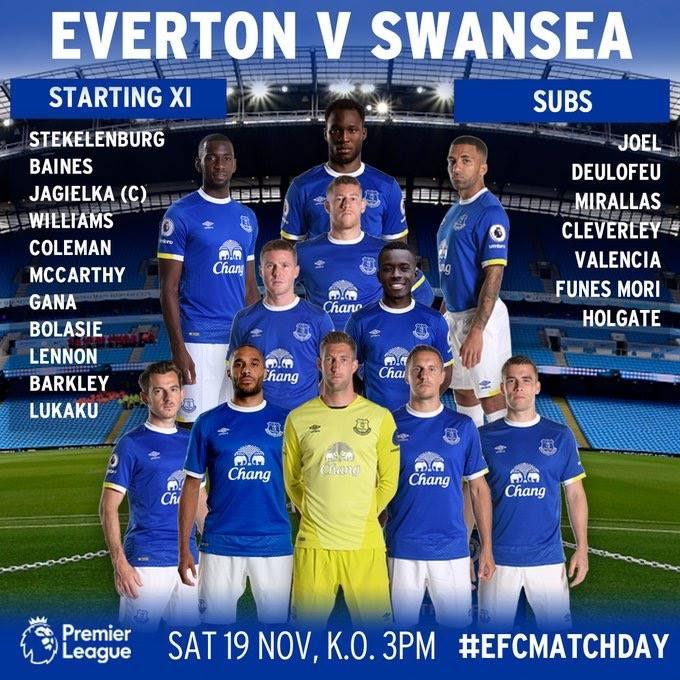 Everton v Swansea 15170910