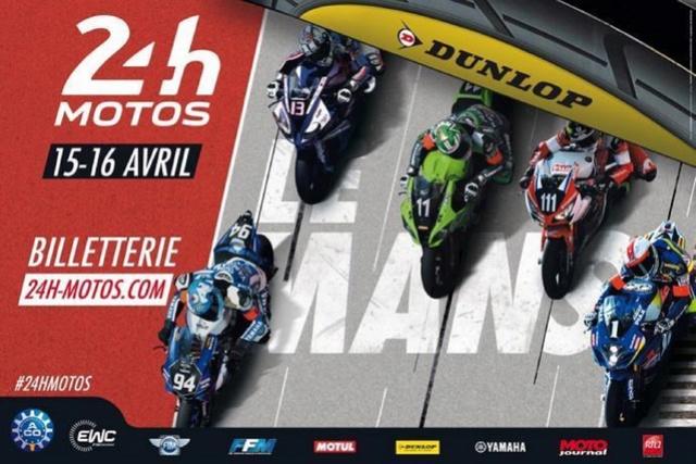 24H du MANS MOTO : l'affiche de l'édition 2017 Affich10