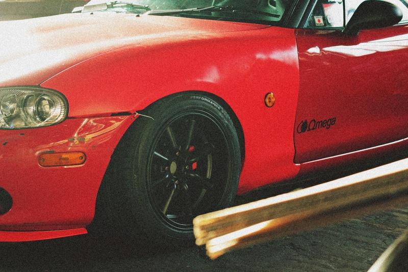 Bmw ae36 + Mazda Roadster NB8C peinture ok Img_2811