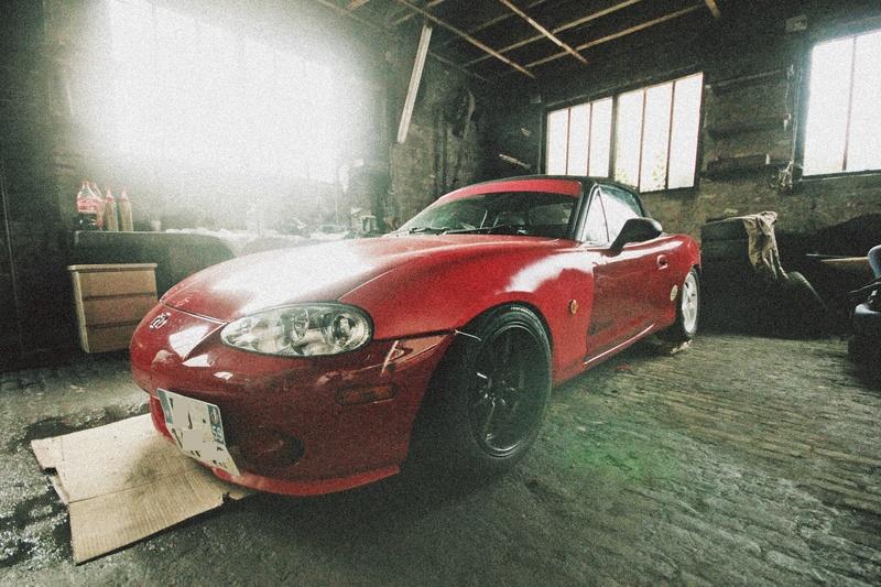Bmw ae36 + Mazda Roadster NB8C peinture ok Img_2812