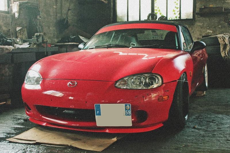 Bmw ae36 + Mazda Roadster NB8C peinture ok Img_2813