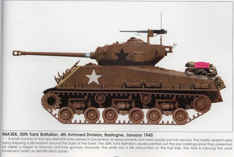 Sherman - Sherman Bataille des ardennes M4a3e810