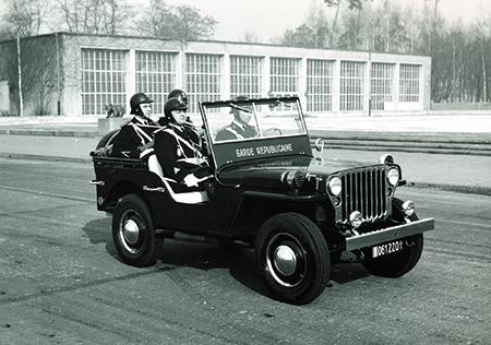 Gendarmerie de Berlin Vyhicu11