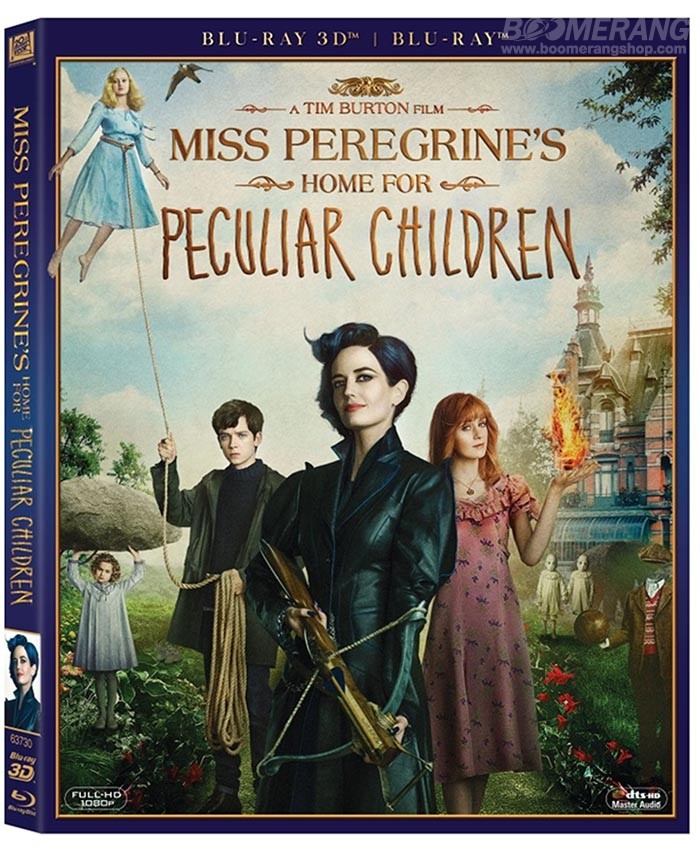 Miss Peregrine's Home for Peculiar Children 400 ex 01385610