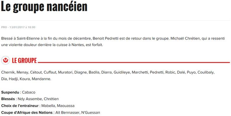 J20 / Jeu des pronos - Prono Nancy-Bastia S210