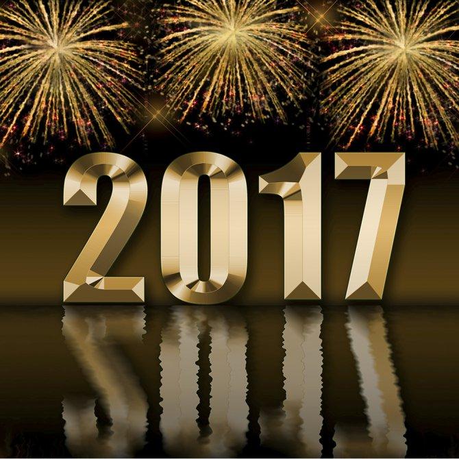 Meilleurs voeux pour 2017... 201711