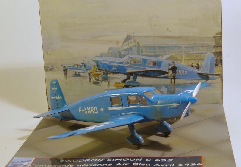 CAUDRON C 635 Simoun 1/72 Compagnie air bleu 1936 Imgp7356
