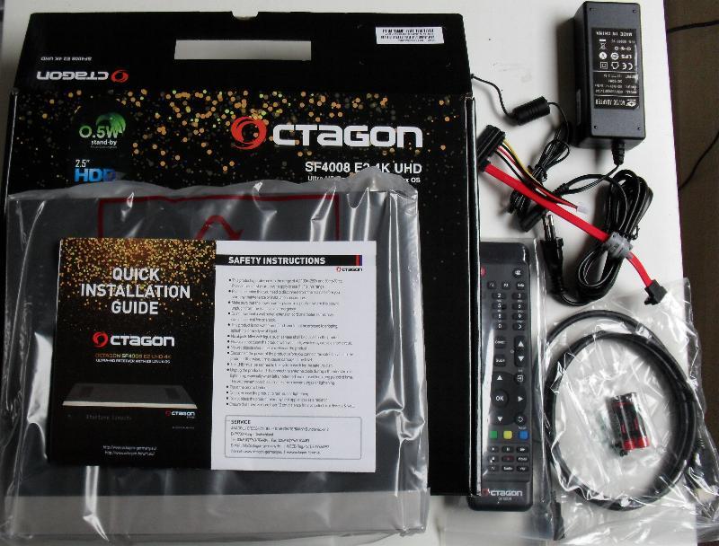 OCTAGON SF4008 4K Cutia10