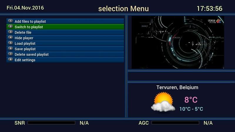 Receptoare 4K - Mut@nt 51HD acelasi cu AX HD51 4K Meniul10
