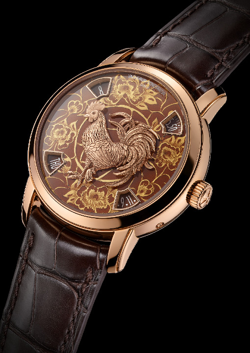 VACHERON CONSTANTIN : La Légende du zodiaque chinois, l'année du coq L_860713