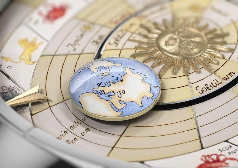 VACHERON CONSTANTIN : Métiers d'Art Copernic sphères célestes 2460 RT L_vach15