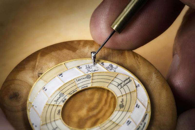 VACHERON CONSTANTIN : Métiers d'Art Copernic sphères célestes 2460 RT L_vach25