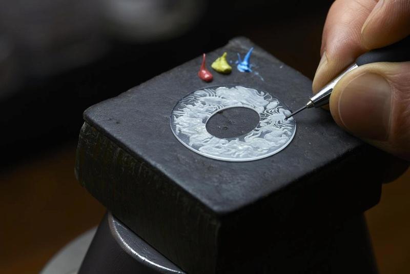 VACHERON CONSTANTIN : Métiers d'Art Copernic sphères célestes 2460 RT L_vach29