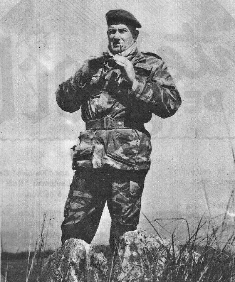 Le 1er R.C.P. rend hommage à un de leur chef de corps prestigieux Colone10