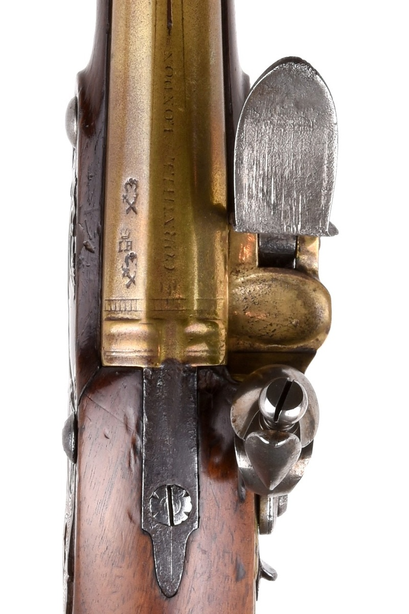 heylin - Pistolet à silex Joseph Heylin 111-0010