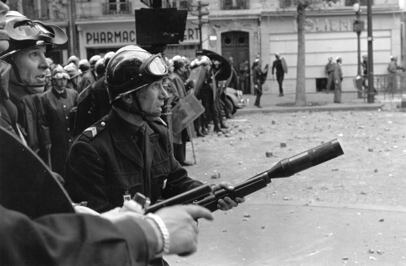 k98 modifié en fusil lance grenade service d'ordre Mauser10