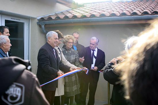Inauguration des nouveaux locaux du club VEGA DE LA LYRE 1015