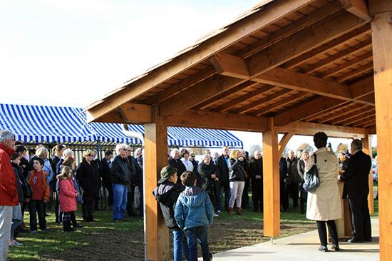 Inauguration des nouveaux locaux du club VEGA DE LA LYRE 1116
