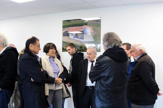 Inauguration des nouveaux locaux du club VEGA DE LA LYRE 416