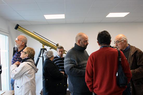 Inauguration des nouveaux locaux du club VEGA DE LA LYRE 616