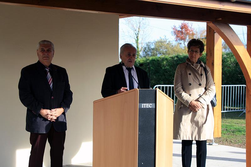 Inauguration des nouveaux locaux du club VEGA DE LA LYRE 816