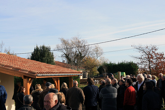Inauguration des nouveaux locaux du club VEGA DE LA LYRE 915