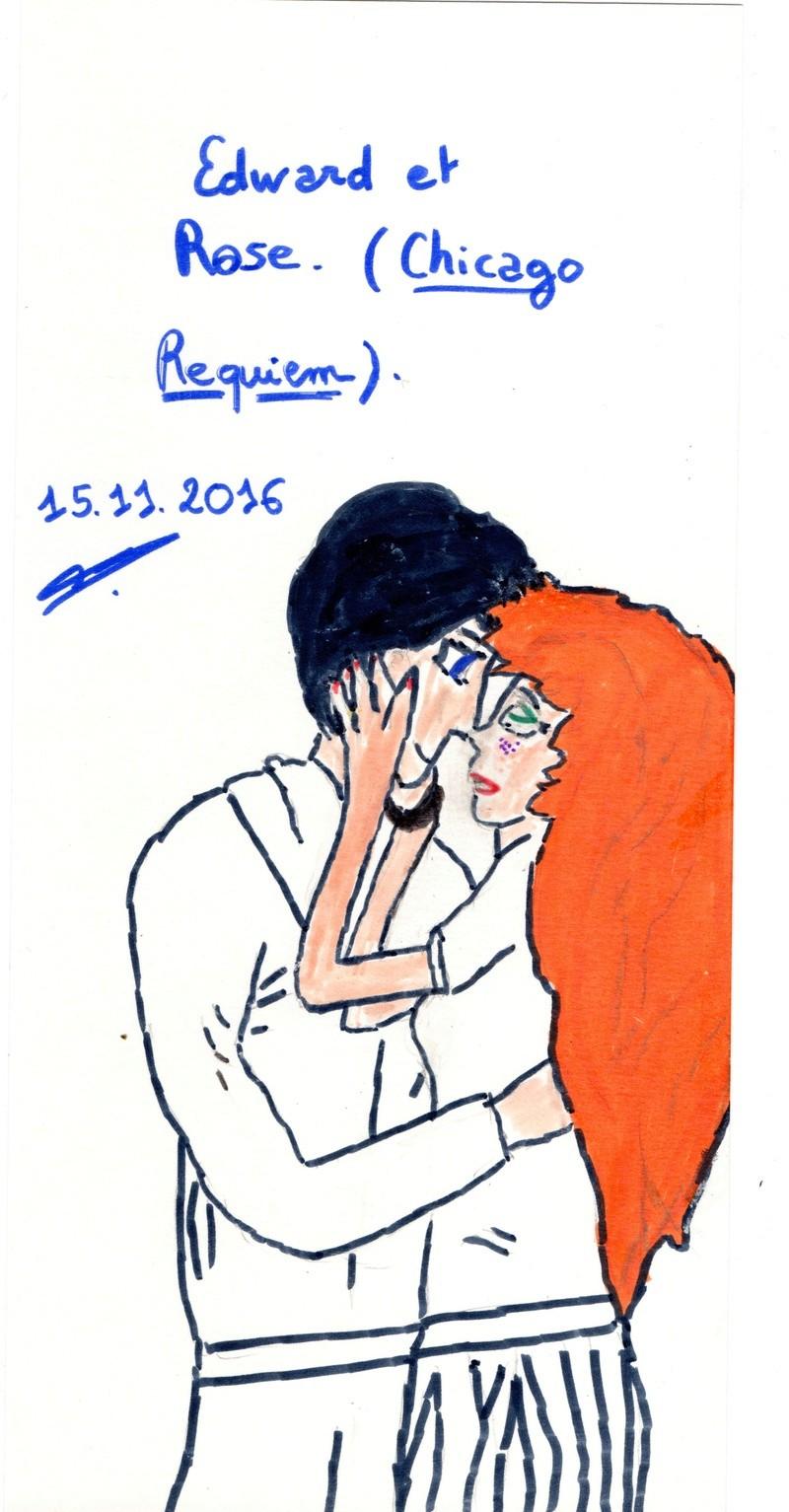Quand je n'écris pas, je dessine mes personnages... Edrose10