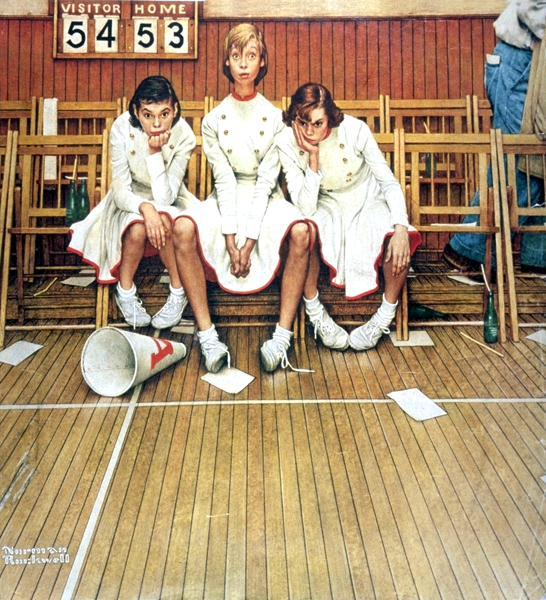 Norman Rockwell Cheerl10