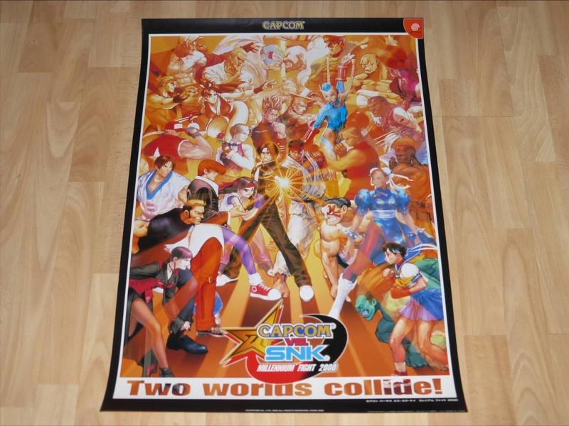 Les PLV et Posters Promo Jap!  Capcom24