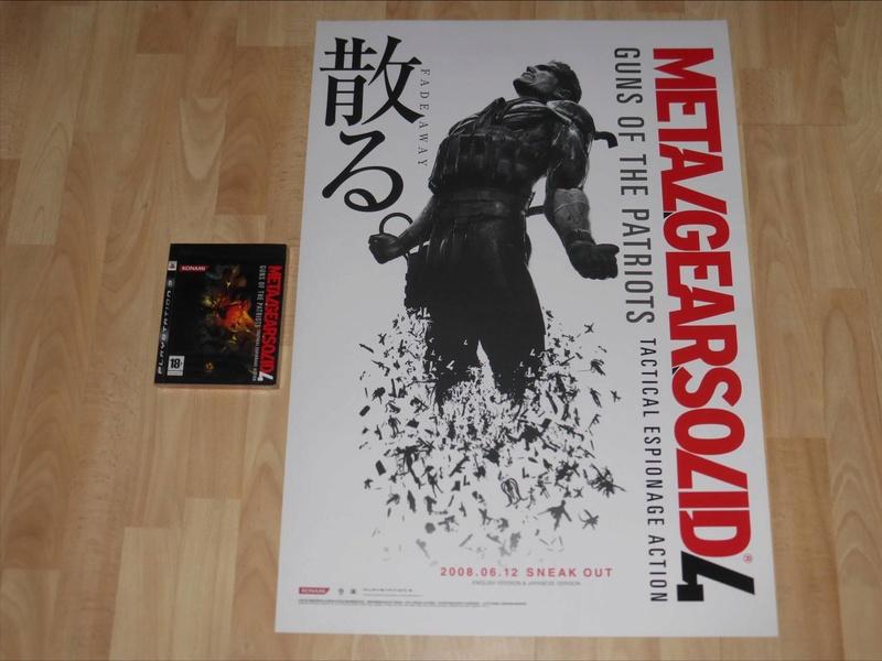 Les PLV et Posters Promo Jap!  Konami11