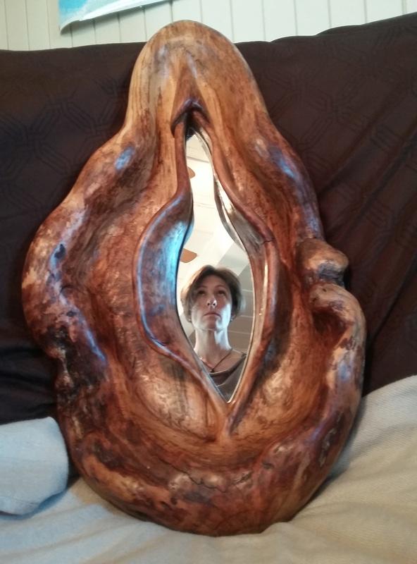 L'origine du monde -l'autre, en bois... 20161111