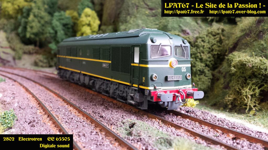 Mes locomotives diesel ...  Electrotren Electr10