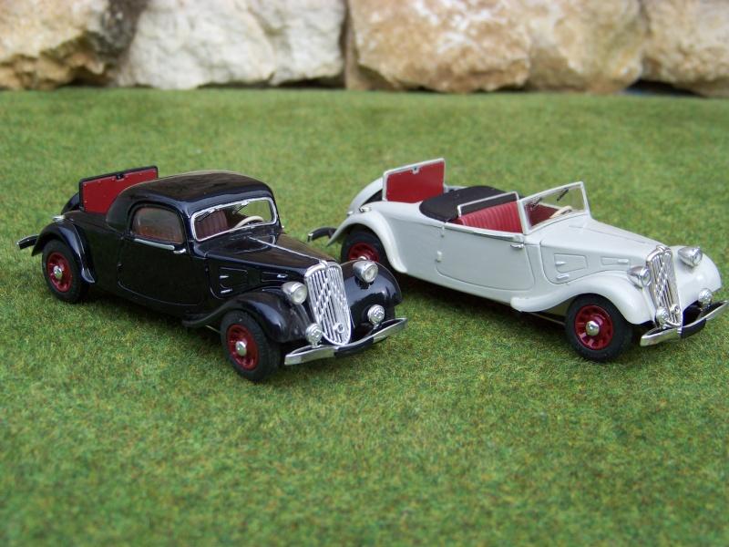 """Citroën 11 cv """"Traction avant"""" cabriolet et faux cabriolet 100_6518"""