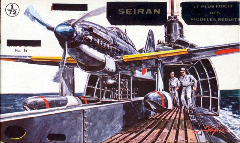 [ Air Flash] Aichi M6A1 Seiran, (ex Aoshima), 1/72, vers 1962 Aichi_10