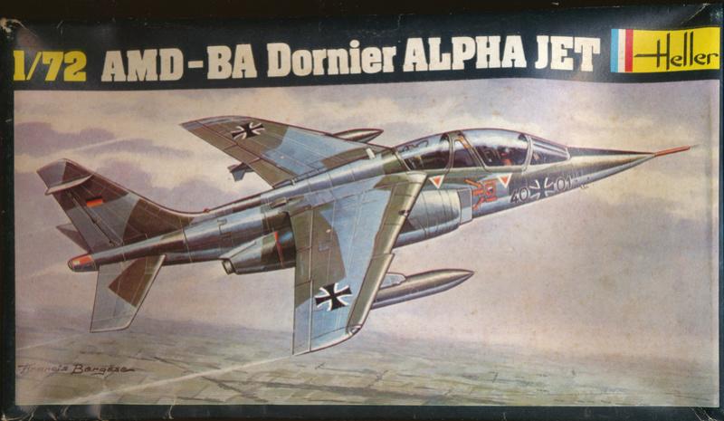 Dasault Breguet Dornier Alphajet, 1/72, Heller Alphat18