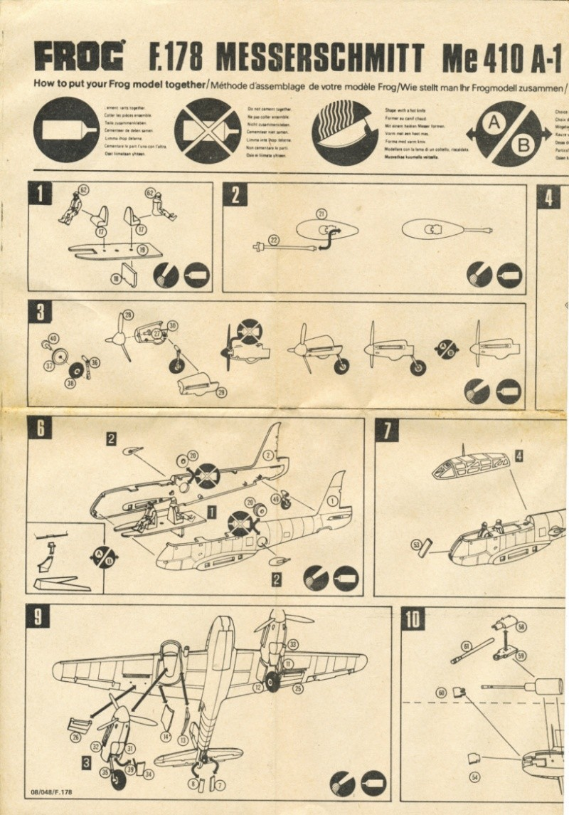 [FROG] messerschmitt 410 hornisse Img_0144