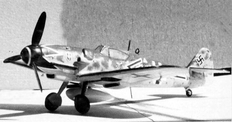 [Frog (Bf 109 F-4) modifié] Messerchmitt Bf 109 G-14 hybride Img_0301