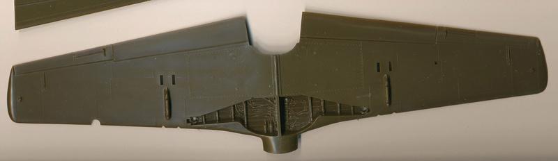North American P-51B Mustang, Monogram, 1/48, 1999 Img_0403