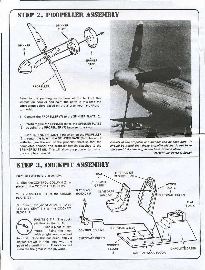North American P-51B Mustang, Monogram, 1/48, 1999 North_34