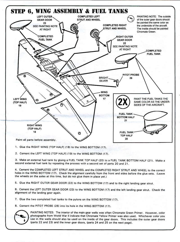 North American P-51B Mustang, Monogram, 1/48, 1999 North_39