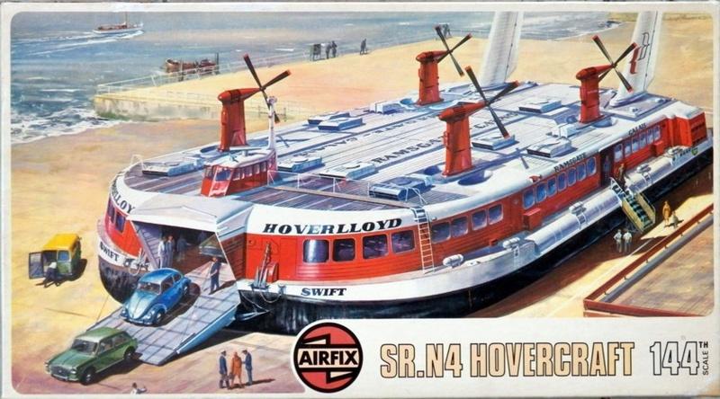 [AIRFIX] Hovercraft SAUNDER ROE NAUTICAL SR-N4 1/144ème Réf 09171 Sr-n4_10