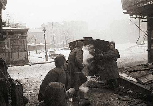 Bataille de Budapest - 29 déc 1944/13 fév 1945 Combat10