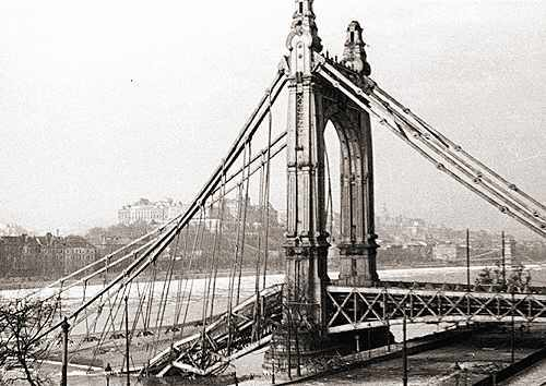 Bataille de Budapest - 29 déc 1944/13 fév 1945 Pont10